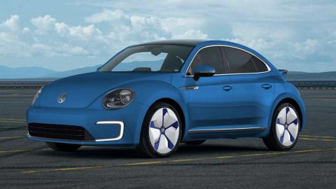 VW Beetle eléctrico