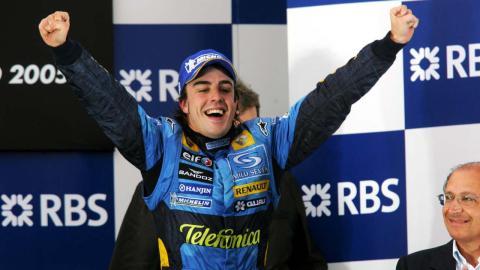 Alonso consigue el titulo de F1 en 2005