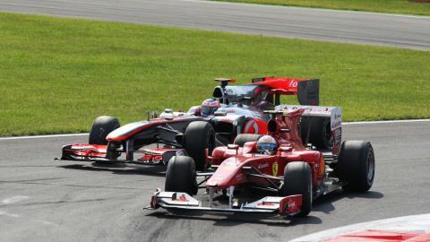 Alonso Ferrari 2010