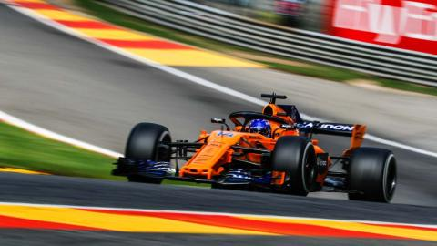 Alonso en Spa-Francorchamps