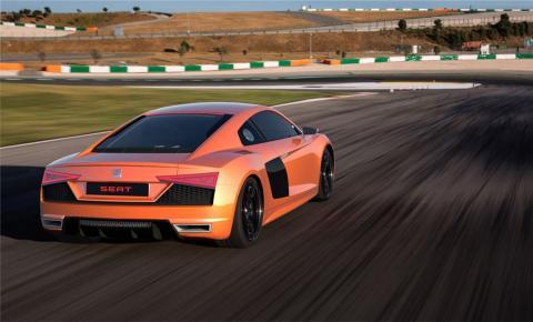 El Audi R8, si fuese recreado por Seat