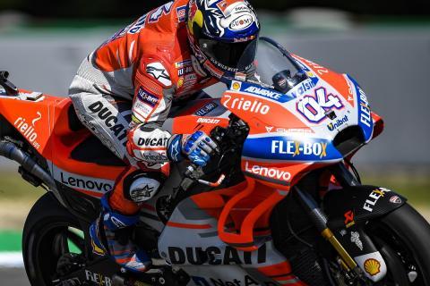 Dovizioso logra la pole en la Clasificación MotoGP Brno 2018