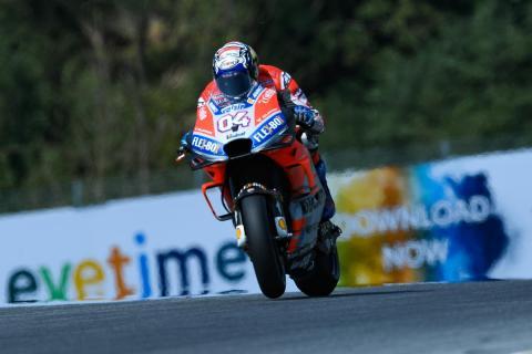Dovizioso manda en los Libres MotoGP Austria 2018