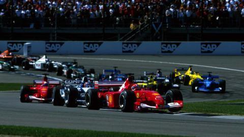 GP EEUU F1 2001