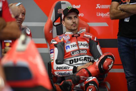 Jorge Lorenzo podrá probar la Honda en Valencia