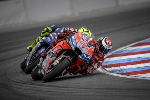 Lorenzo y su estrategia diferente en Brno