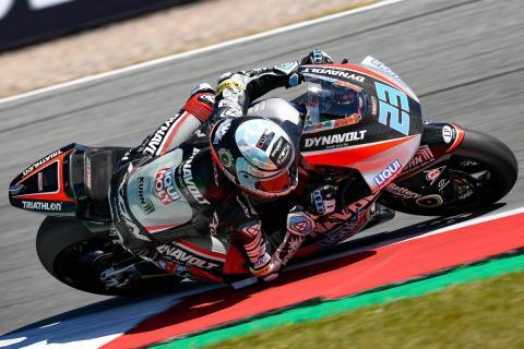 Marcel Schrötter encabeza los Libres Moto2 Brno 2018