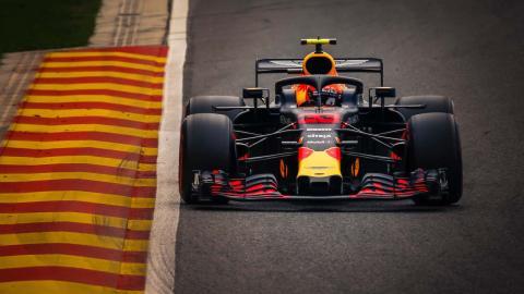 Max Verstappen GP Bélgica 2018