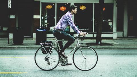Un paseo en bicicleta