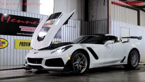 Potencia Chevrolet Corvette ZR1