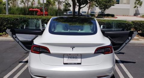 Tesla Model 3 calidad