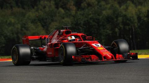 Vettel GP Bélgica