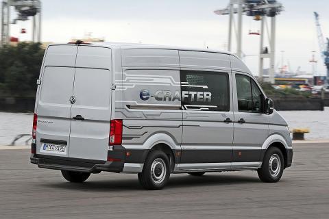Volkswagen e-Crafter. El trabajo sostenible