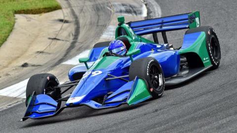 Alonso prueba Indycar
