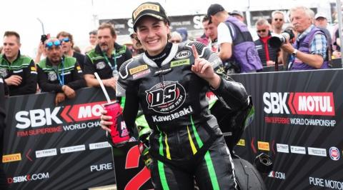 Ana Carrasco, campeona del mundo de Supersport 300