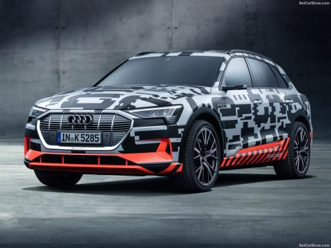 Imagen el Audi e-tron Quattro