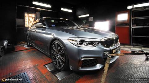 BMW M550i xDrive Auto-Dynamics