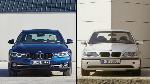 BMW Serie 3 E46 vs F80