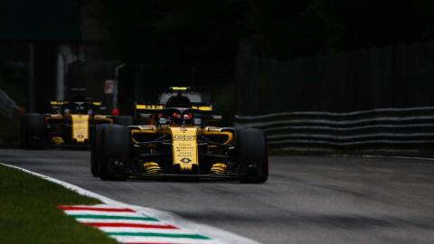 Carlos Sainz en el GP de Italia