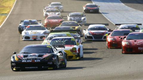 Carrera de GTs en Jerez