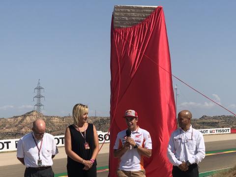 Curva Marc Márquez Motorland Aragón