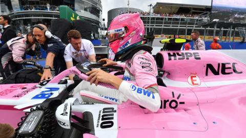 Esteban Ocon Force India