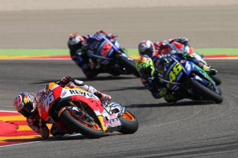Horarios MotoGP Aragón 2018