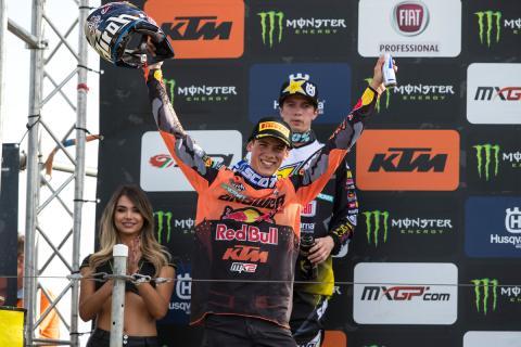Jorge Prado, campeón del mundo de MX2