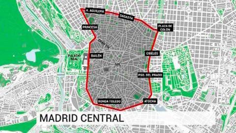 Madrid central mapa