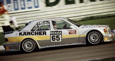 Michael Schumacher debuta en el DTM
