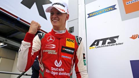 Mick Schumacher en F3
