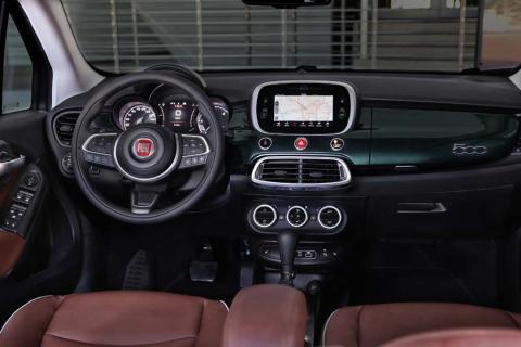 Nuevo Fiat 500x interior