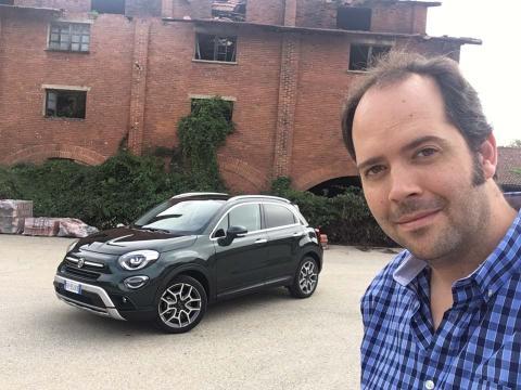 Prueba nuevo Fiat 500x 2018 en Turín