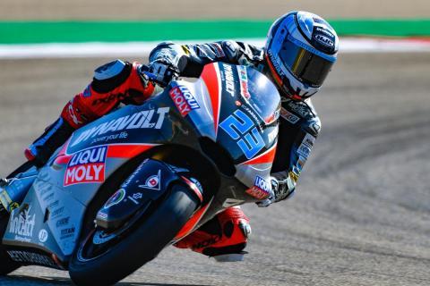 Schrötter, el más rápido de los Libres Moto2 Aragón 2018