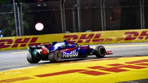 Toro Rosso en el GP de Singapur