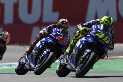 Valentino Rossi y Maverick Viñales