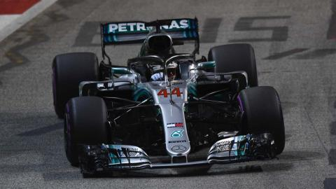 Vuelta de Hamilton en Singapur