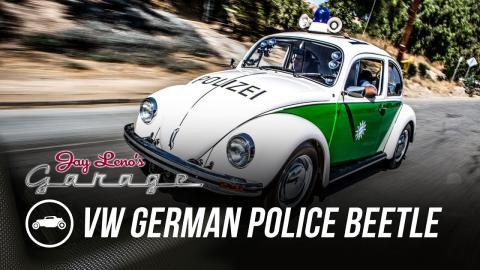 VW Beetle de la policía alemana