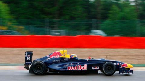 Alex Albon con Red Bull