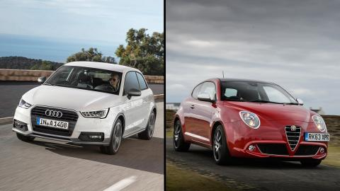Alfa Romeo Mito vs Audi A1