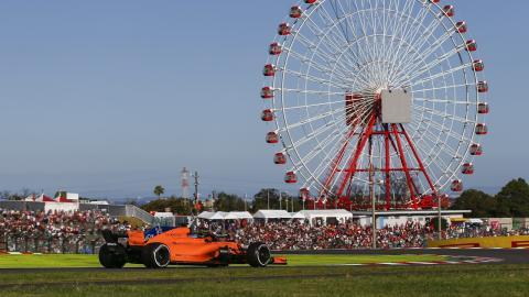 Alonso en el Circuito de Suzuka