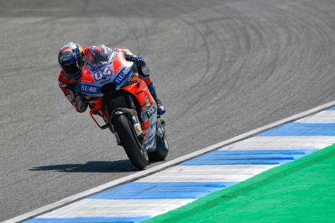 Andrea Dovizioso en los Libres MotoGP Tailandia 2018