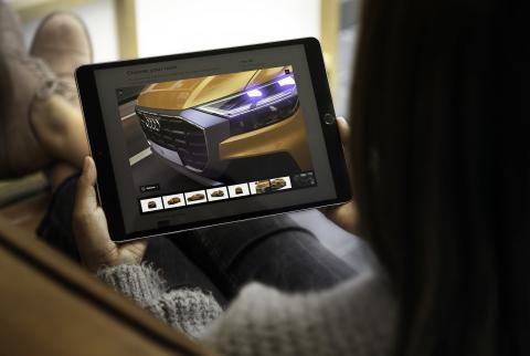 Audi configurador 3D