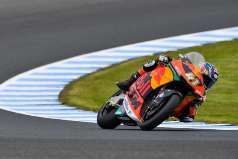 Brad Binder gana la Carrera Moto2 Australia 2018