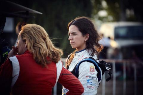 Cristina Gutiérrez, Dakar 2019, Mitsubishi Cross