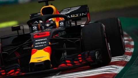 Daniel Ricciardo GP México 2018