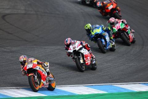 Elementos de seguridad MotoGP