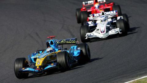 Fernando Alonso en el GP Japón F1 2006