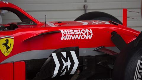 Ferrari decoración