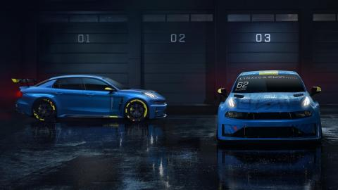 Lynk Co 03 Cyan Racing Concept WTCR (coches)